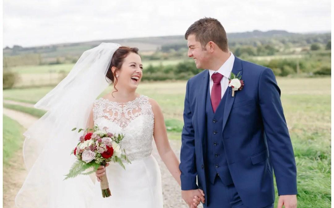 Mr & Mrs Garnett   Rookery Wolds Wedding