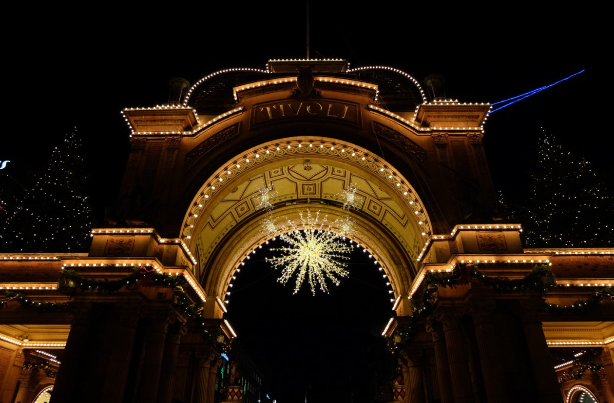 The entrance to Tivoli feels like the door to Narnia at Christmas time