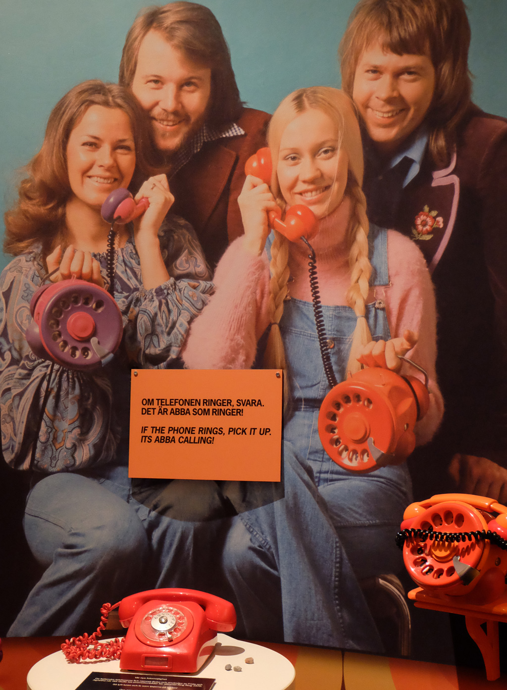 If the phone rings, pick it up. It's ABBA calling!