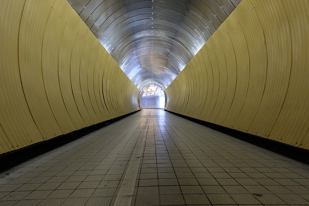 """The """"singing"""" Brunkeberg Tunnel, part of a set of art and sound installations for the Eurovision Song Contest 2016"""
