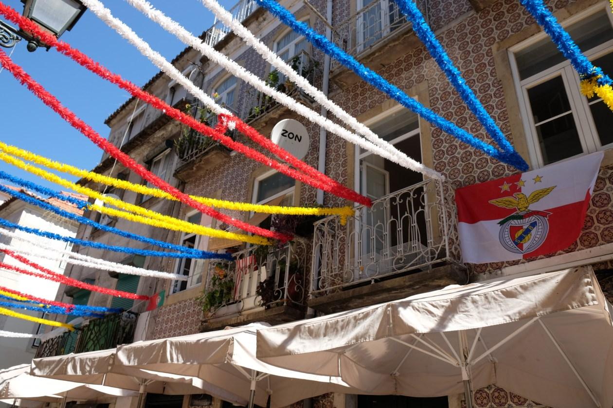 Decorations in Bairro Alto