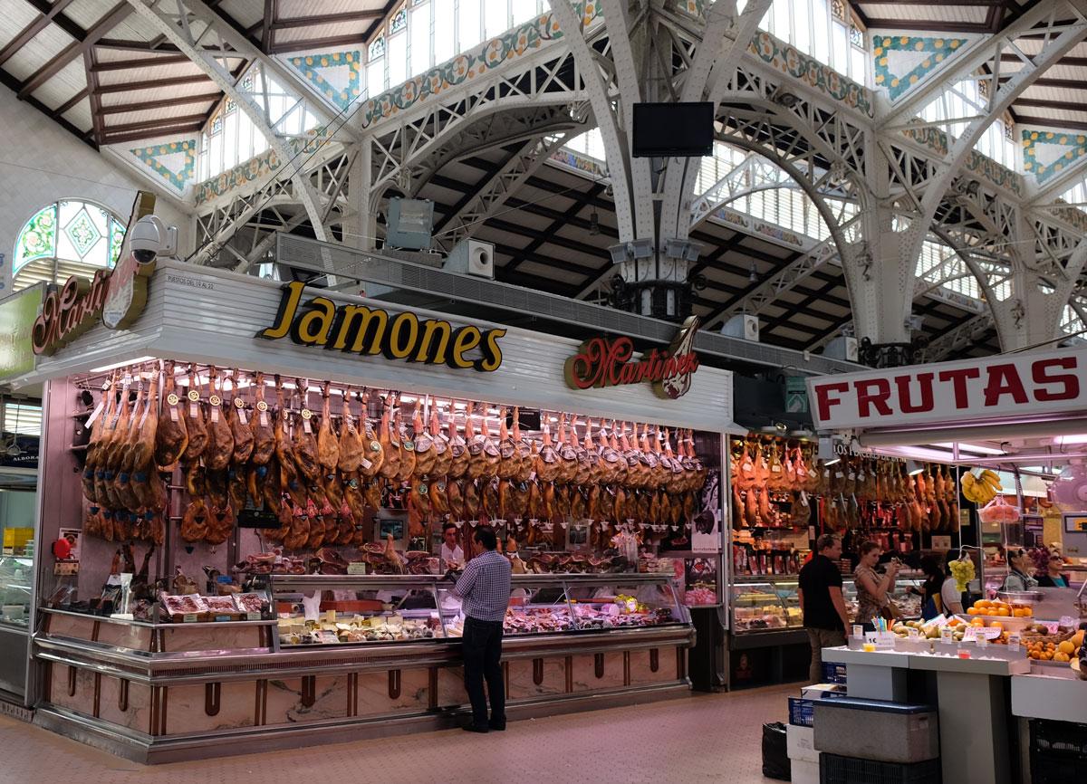 Inside the Mercado Central