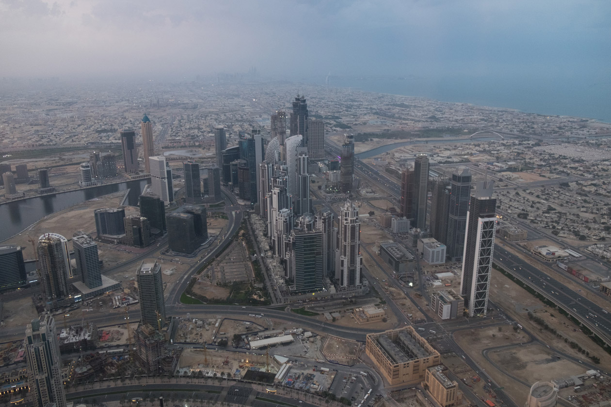 Visiting The Burj Khalifa At Sunrise Helen On Her Holidays