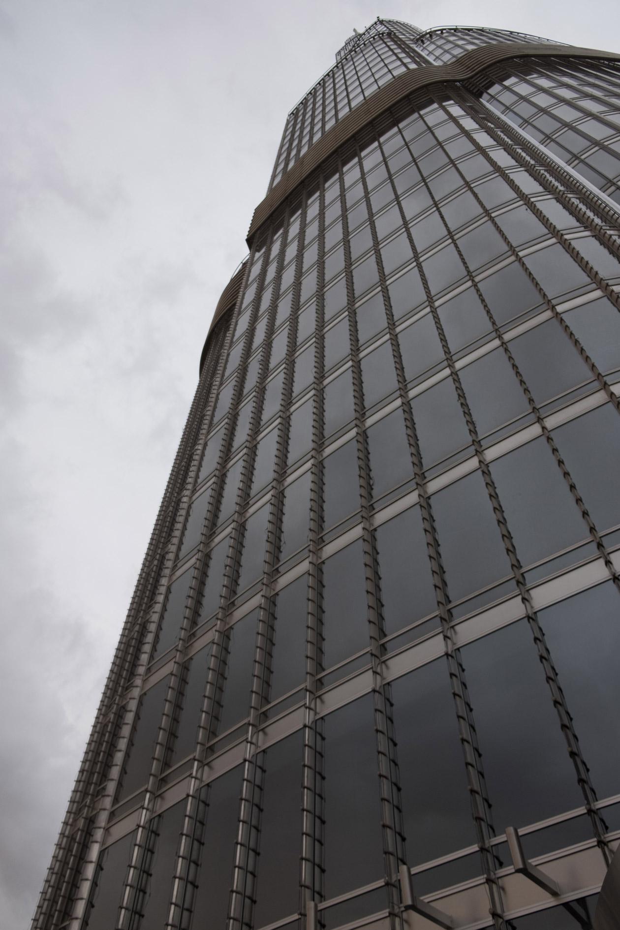 Looking up the Burj Khalifa