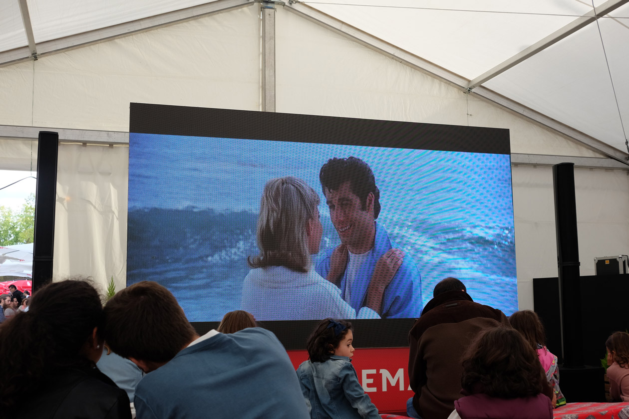 Watching Grease (in Spanish!) at the Mercado de Motores