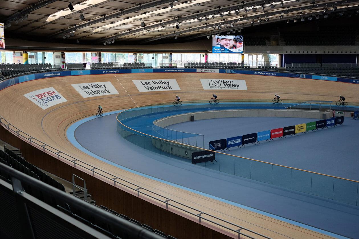Inside the Olympic Velodrome