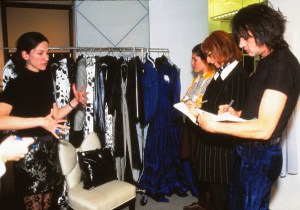 John Sahag And I @ Fashion Show Briefing - 1996