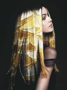 Unique Evocative Hair Color - 2014