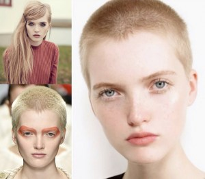 Model Ruth Bell, Shorn Star, Before/After – 2015