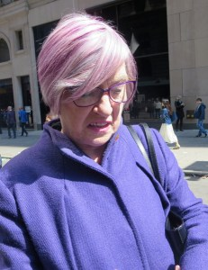 81 Years Young, With Chic Pink Hair – 2016