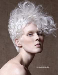 NAHA, White Geo Short Hair - 2016