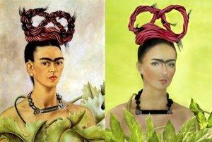 Frida Kahlo Painting & Photo - 1941/2016