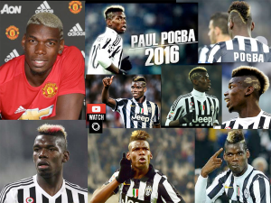 Paul Pogba & His Crazy Cool Hair - 2016