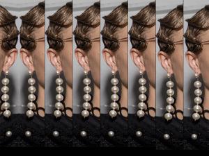 Very Long Pearl Earrings - 2017