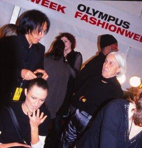 Favorite NYFW Backstage Photo - 2004
