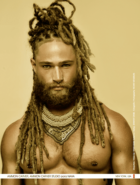 Dreads Piled Up On Hunky Man NAHA 2017