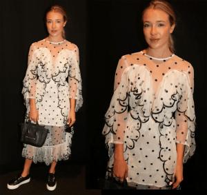 Cool Dress on Mystery NYFW Blogger - 2018