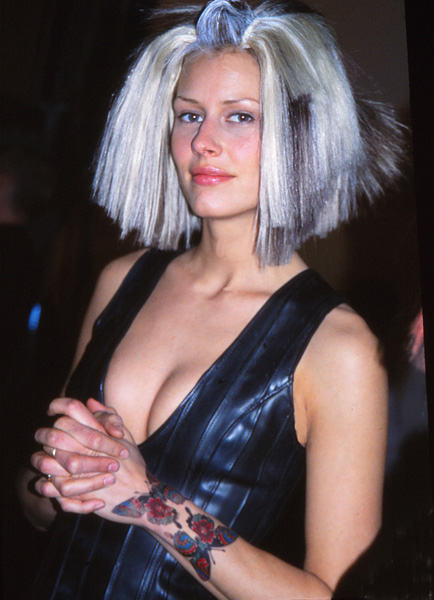 '00s Sahag's Grey Hair Before Trend - 2003