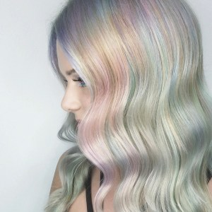 Now. Pastel Hair Colors Waving Beauty – 2017