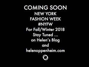 COMING SOON NYFW FALL 2018