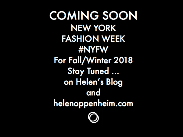 COMING SOON NYFW FALL 2018