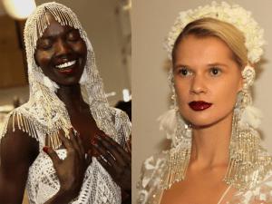 Naeem Kahn Beautiful Brides for Fall - 2018
