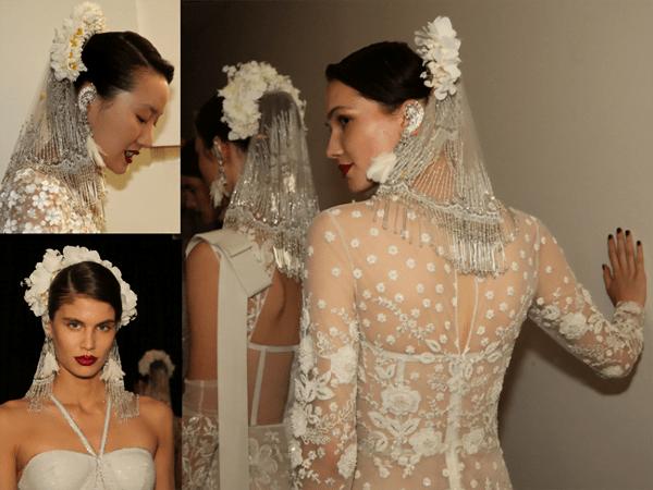 Trend: Naeem Khan Mini Bridal Veils - 2018