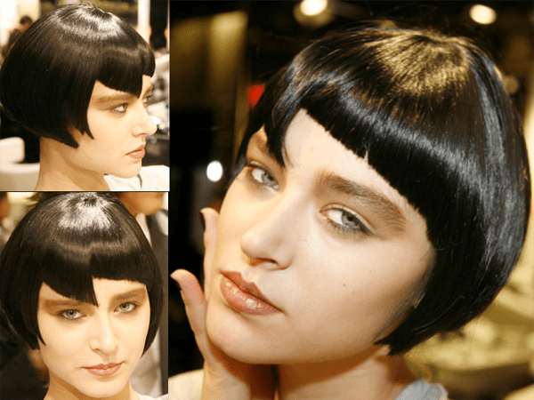 Modern Abstract '20s-Inspired Wigs -2011