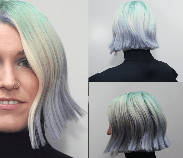 Colorific Straight Bob @ Intercoiffure AC -2019