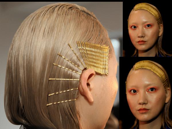 Bobby Pins Make Hair Design NYFW - 2020