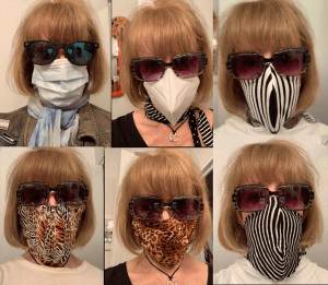 Selfies Helen's Masks for Covid-19 - 2020