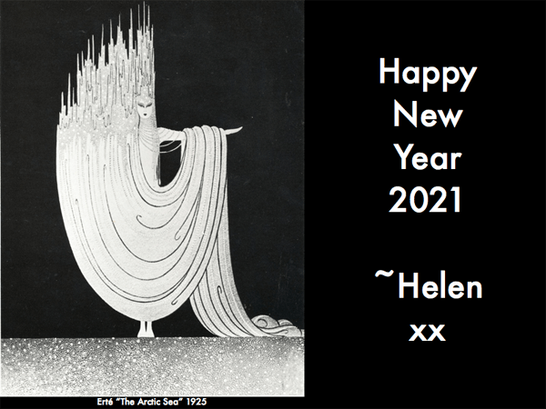 Happy New Year With Erté -  2021