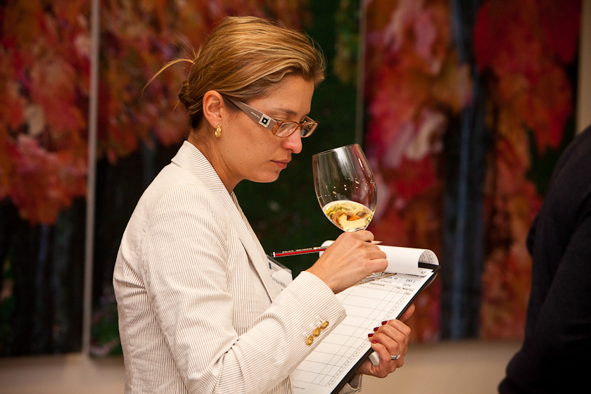 Wine Judging for AWAC