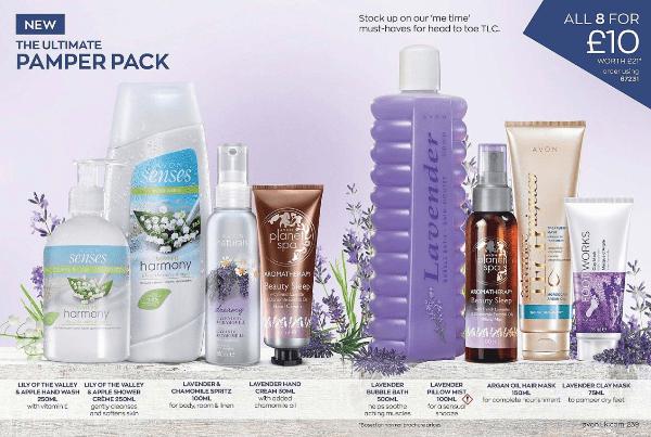 Avon Campaign 8 2020 pamper kit 08