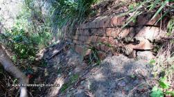 Stanwell Park Overbridge - brick foundations