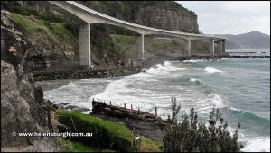 Seacliff Bridge and Coalcliff Jetty Mine