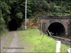 Lilyvale Tunnel No. 2 (tunnel No. 6) with current Lilyvale Tunnel
