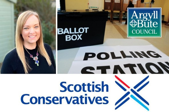 Conservative candidate Gemma Penfold has been elected as a councillor for Helensburgh and Lomond South
