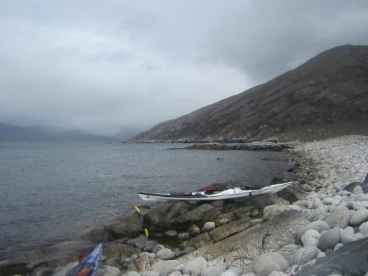 The rock beach