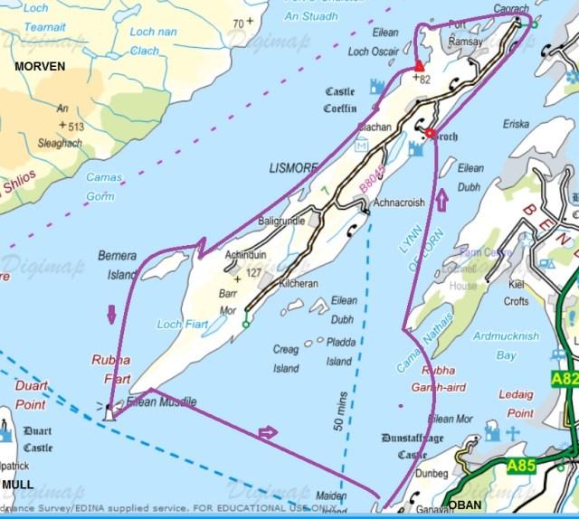 lismore map