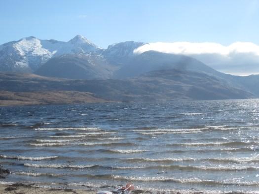 Looking south across loch to Ben Starav