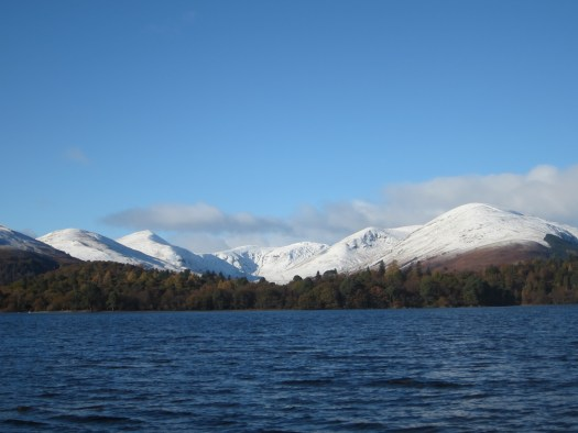 The first snow of the winter: Glen Luss