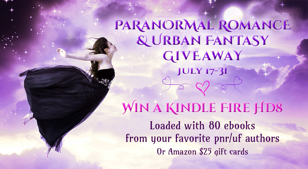 Paranormal Romance and Urban Fantasy Giveaway!