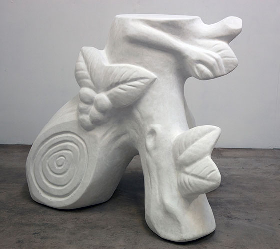 Plinth - Polystyrene and Fibreglass Resin, 2012