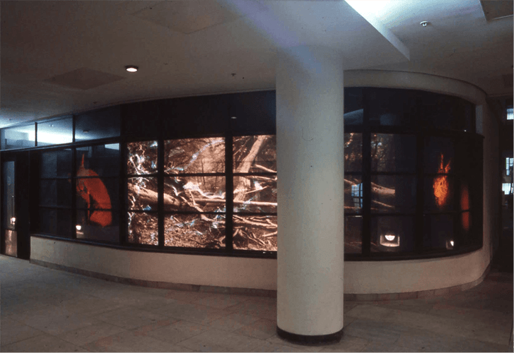Struck : Installation, Tower Bridge Plazza 1994