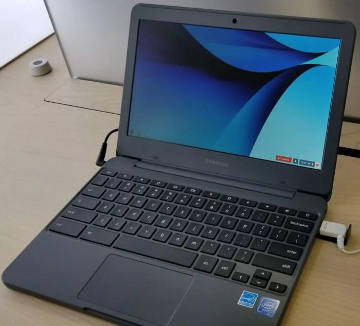 サムスンから新しくなった「Samsung Chromebook 3(XE501C13)」がリリースされるかもしれません。