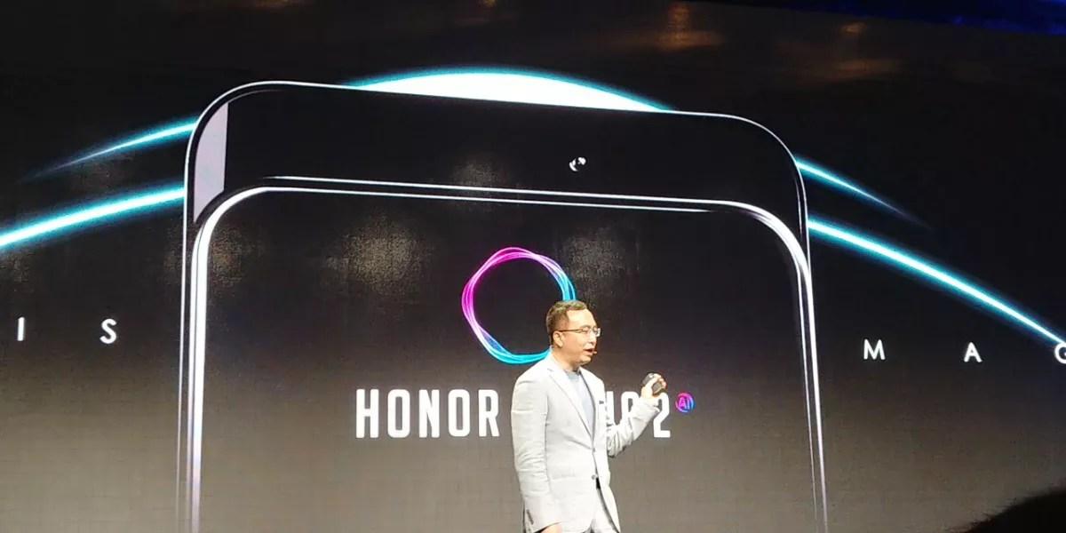 HuaweiがIFA2018で「Honor Magic 2」を少しだけ発表したようです。スライド式カメラ採用のフルディスプレイモデル