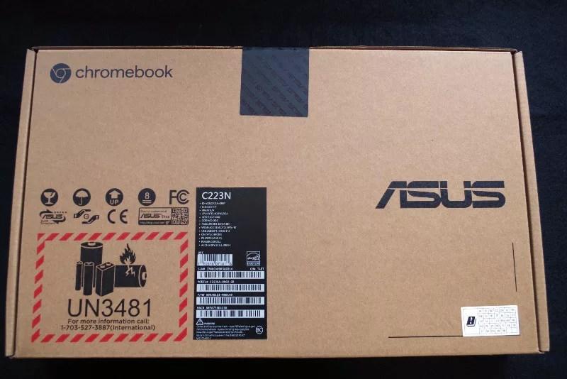 review ASUS Chromebook C223 02