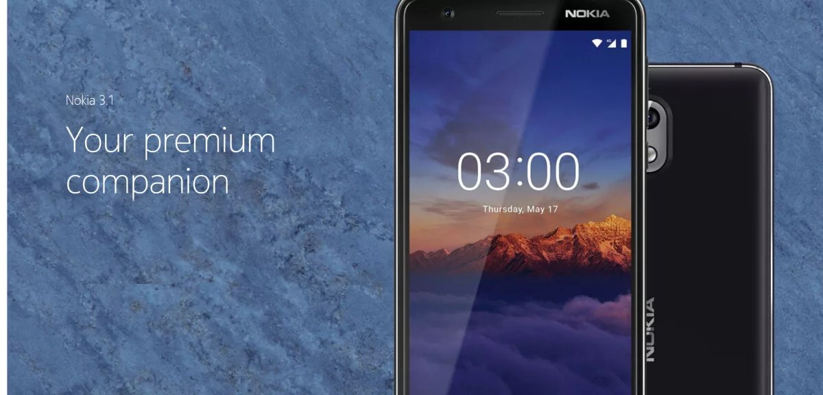 Nokia 3 1 release rumor