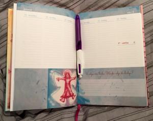 Bruk gjerne en kalenderbok/dagbok.